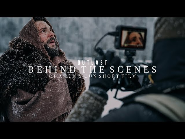 BEHIND THE SCENES of our Short Film