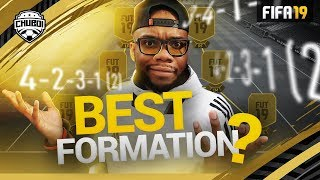 Best Formations in FIFA 19! Which One Should You Use?  | Trust The Boi