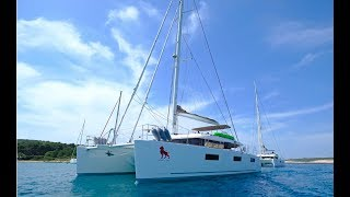 Catamaran Adriatic Lion Sail Croatia Yacht Charters   HD 1080p
