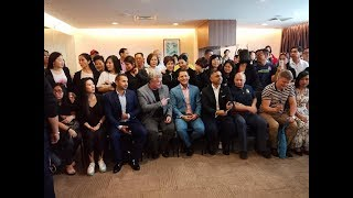 The New Office Opening in Singapore and the meeting of the onelife leaders on 10 Jan 2019