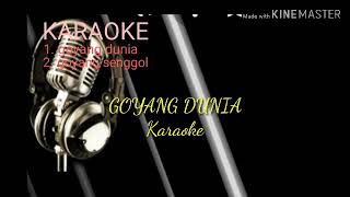 Dangdut Karaoke Goyang Dunia. Lirik lagu evitamala