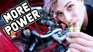 SPARK PLUGS GIVE YOU MORE POWER?
