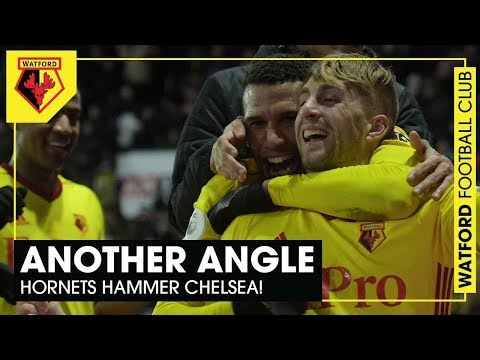 ANOTHER ANGLE 💪🏽 | Deulofeu scores as Watford hammer Chelsea!