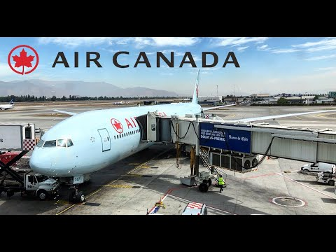 Air Canada Business Class | Boeing 777-300ER (SCL - EZE) |