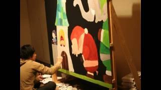 2009年12月23日 安田画廊(大阪)にて開催された武内祐人クリスマスライ...