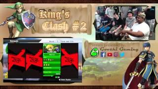 King's Clash #2: SlamSHADY/AmiiboKing (P1/P3) vs A-Fin/Nom (P2/P4)