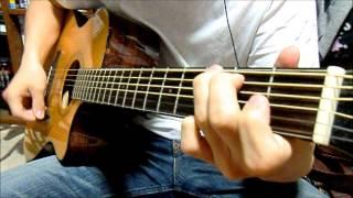 シロツメクサ 豊崎愛生 Acoustic Guitar Instrumental