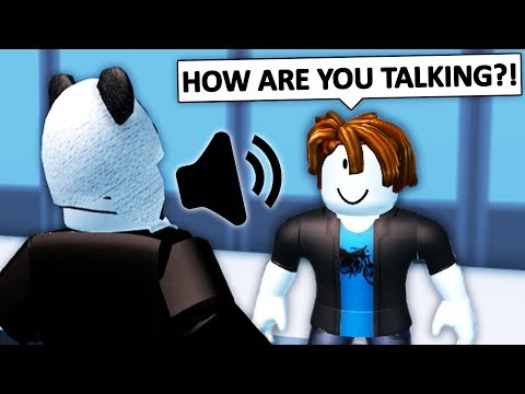 USING VOICE CHAT IN ROBLOX JAILBREAK