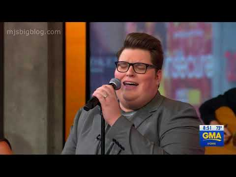 """Jordan Smith Performs """"Only Love"""" On GMA"""