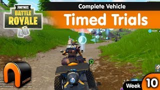 Complete Vehicle Timed Trials FORTNITE