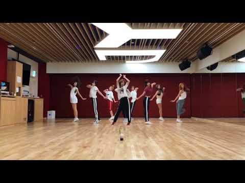 "TWICE -""Shot Thru The Heart"" Dance Video At JYP Studio"