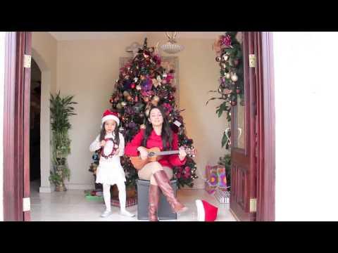 Rockin around the christmas tree (ukulele cover) - YouTube