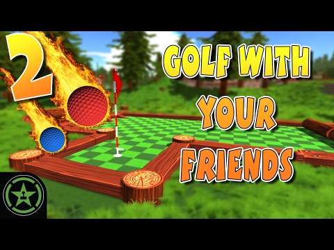Let's Play - Golf With Your Friends: AH Live Stream - Part 2