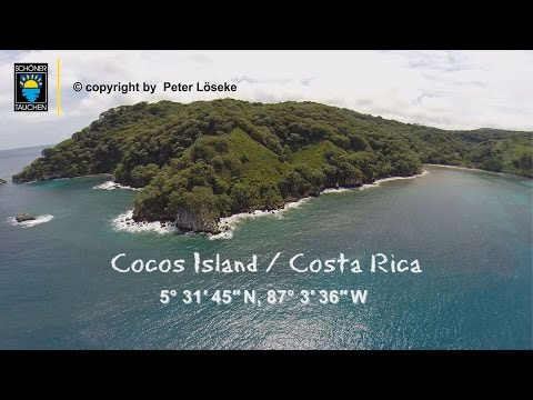 Cocos Island von OBEN!! Isla del Coco from the Air! Peter Löseke 4K