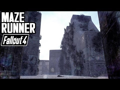 Fallout 4 - The Maze Runner - Cool New Location Mod For Xbox, PS4, & PC - By Mirci33