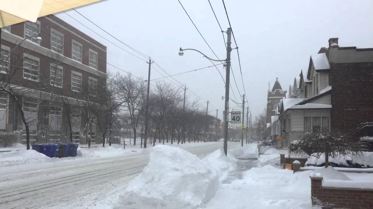 Snow Storm Toronto: Toronto Snow Storm 2015