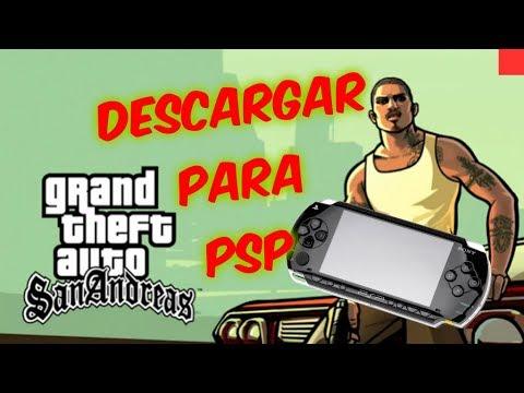 Descargar Y Poner Gta San Andreas Para Psp Youtube