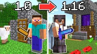 Paso Minecraft pero la Versión se Actualiza cada Día