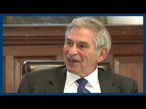 US Popularity in the Middle East   Paul Wolfowitz   Oxford Union