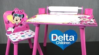 Minnie Mouse Art Desk from Delta Children's Products
