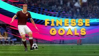 AMAZING FIFA 19 FINESSE GOALS COMPILATION