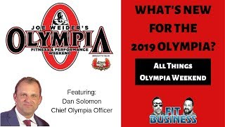 Talking Olympia Weekend Business with Dan Solomon