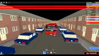 Roblox East London Bus Simulator Route 193 Romford, Queen's Hospital to County Park Estate Part 2