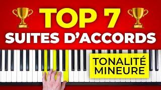 7 suites d'accords en tonalité mineure pour vos compositions et vos improvisations