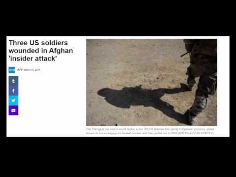 Three US soldiers wounded in Afghan 'insider attack'