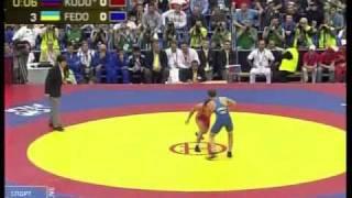 60 кг. Кудухов vs Федоришин, Чемпионат мира-2010, финал
