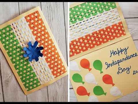 Handmade Card for Independence/Republic Day - National Flag Greeting
