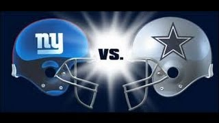 Madden NFL 25 Gameplay: Giants at Cowboys