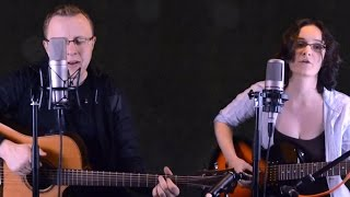 One of us - Joan Osborne [Acoustic live cover by Jörg Hecker & Miriam Spranger]