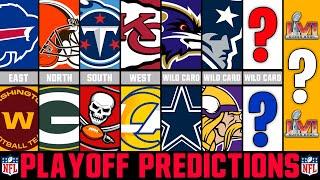 NFL Playoff Predictions 2021 | Super Bowl 56 Winner?