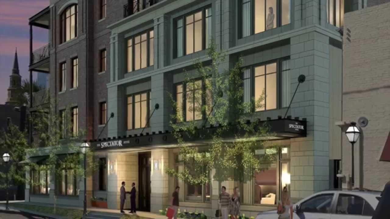 The Spectator Hotel Charleston Sc Hd Youtube