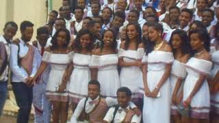100th Day Celebration in university of Gondar by IOT students in 2010 E C