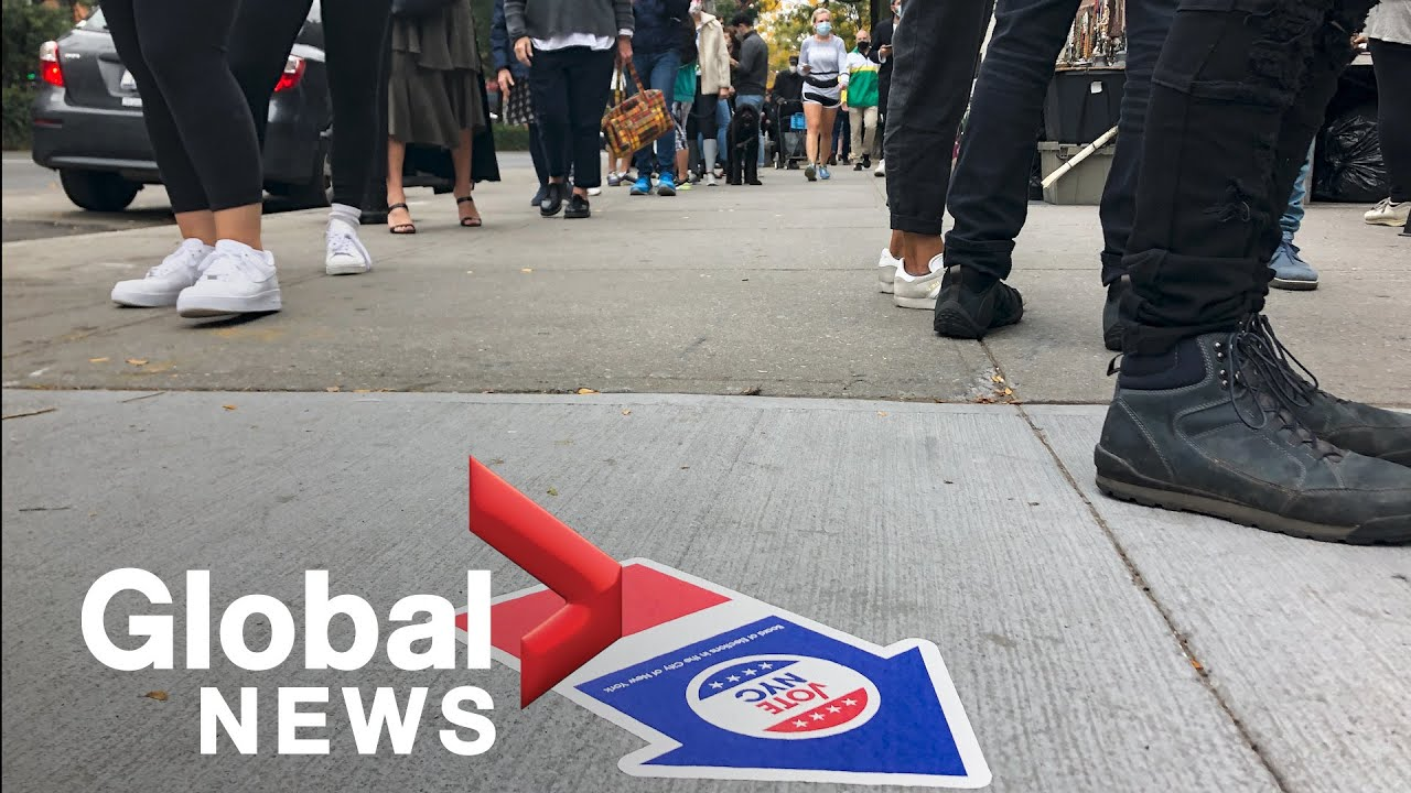 Early Voting in NYC: Long Lines Across New York