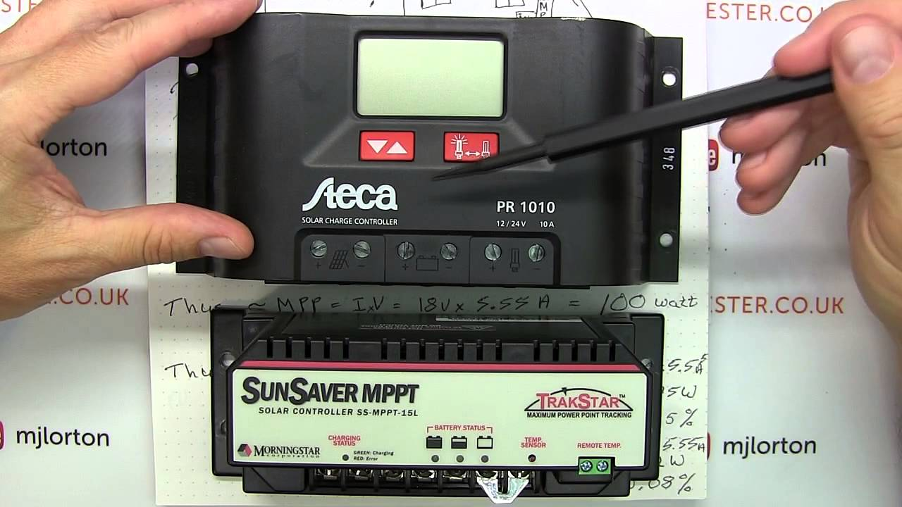 tutorial how to solar power your home house 4 off grid setup pwm vs mppt youtube [ 1280 x 720 Pixel ]