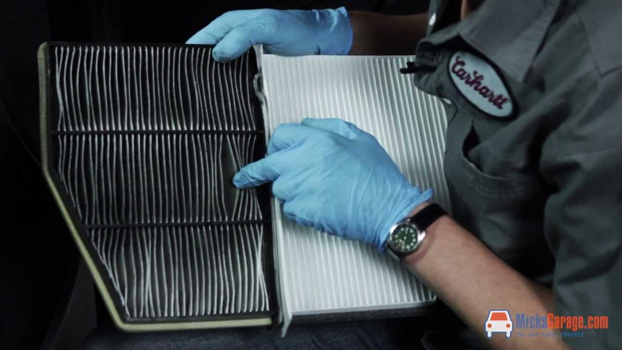 When To Change Air Filter >> How To Change The Pollen Filter On A Mk5 VW Golf - YouTube