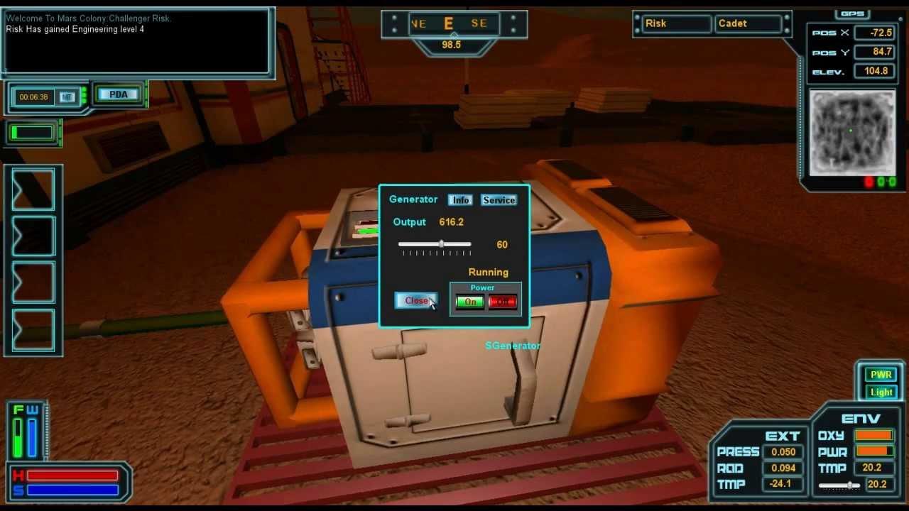 Игра Последняя башня Марса - играть онлайн