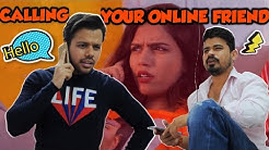 CALLING YOUR ONLINE FRIEND || Hyderabad Diaries