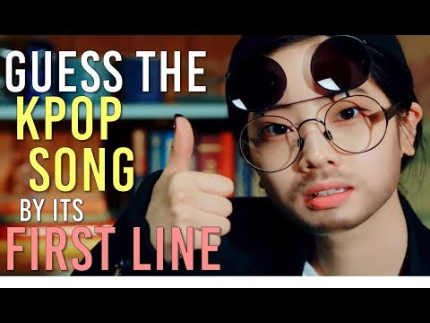 Google picks the Kpop Song you're going to guess by its first line | KPOP GAME