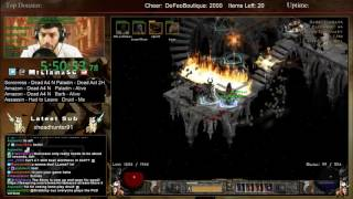 Diablo 2 - 8 MAN HARDCORE HELL SPEEDRUN - Part 2