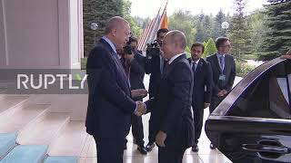 Turkey: Putin arrives in Ankara for trilateral Syria summit Video