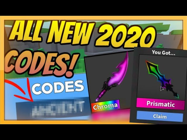 Free Godly Knife All Murder Mystery 2 Codes July 2020 Roblox