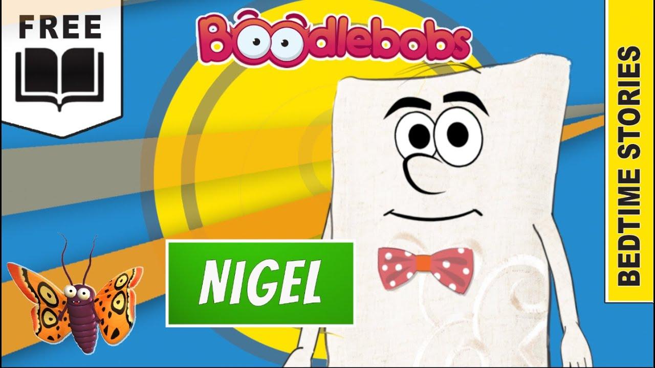 Download Nigel the Niggly Napkin Cartoon Children's Bedtime Story, short story