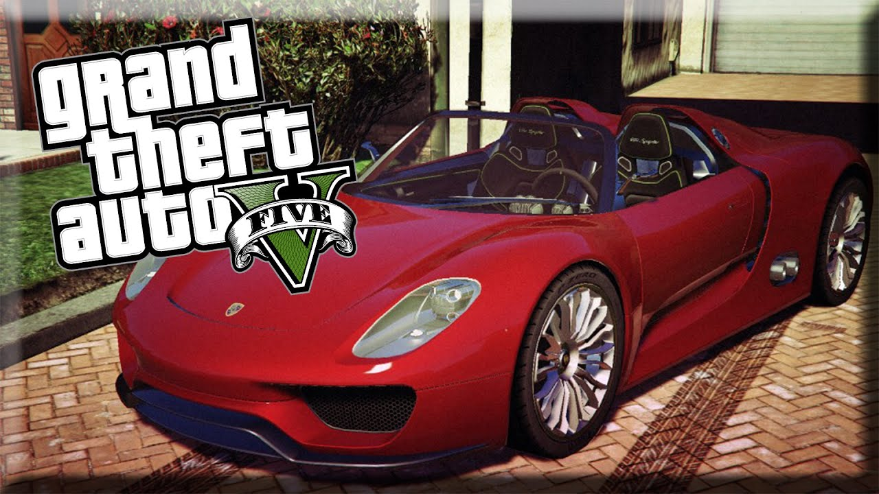 gta 5 pc mods porsche 918 spyder youtube. Black Bedroom Furniture Sets. Home Design Ideas