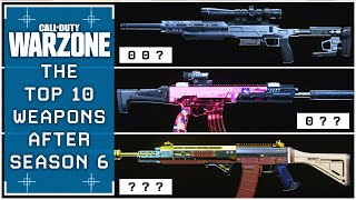 The BEST WEAPONS of the WARZONE NEW META (Season 6)