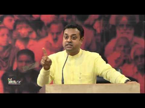 "Dr. Sambit Patra address 'Yuva Samwad"" on 1 year of NDA Government in New Delhi | May 21, 2015"