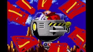 Doctor. Egghead Attacks - Sonic the Hedgehog